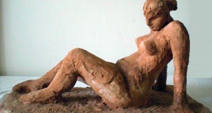 Sculp – Terracota Clay Sculpture of Woman