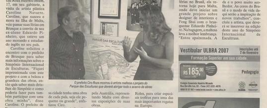 Caroline Navarro Brazil Article 2007
