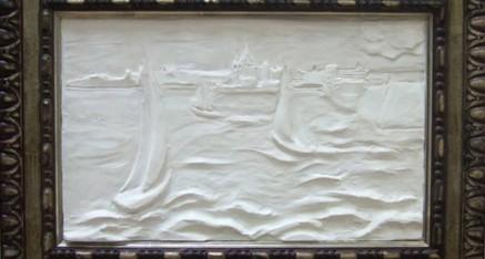 Relief Sea Sculpture