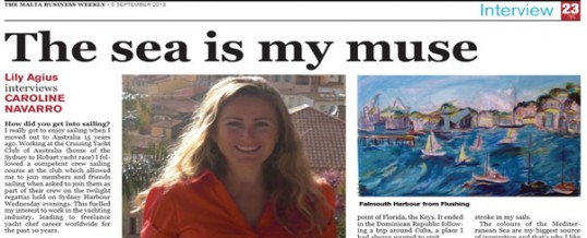 Malta Business Weekly – Yachting Business Interview
